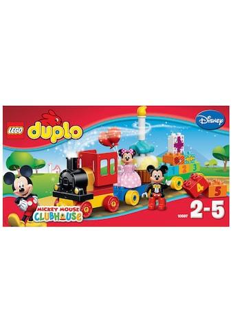 """LEGO® Konstruktionsspielsteine """"Geburtstagsparade (10597), LEGO® DUPLO® Disney Mickey Mouse Clubhouse«"""", Kunststoff, (24 - tlg.) kaufen"""