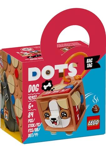 LEGO® Konstruktionsspielsteine »Taschenanhänger Hund (41927), LEGO® DOTS«, (84 St.) kaufen