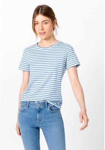 HALLHUBER T - Shirt »Basic - Ringelshirt aus Bio - Baumwolle« kaufen