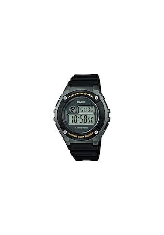 CASIO Watch »Armbanduhr W-216H-1BVEF« kaufen