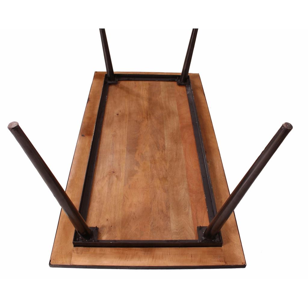 SIT Esstisch »Iron«, aus Mangoholz und Schmiedeeisen,140/70 cm