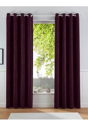 Leonique Vorhang »FINLAY«, blickdicht, leicht metallischer Glanz durch Lurexanteil kaufen