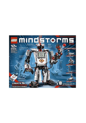 """LEGO® Konstruktionsspielsteine """"MINDSTORMS® EV3 (31313)"""", Kunststoff, (601 - tlg.) kaufen"""