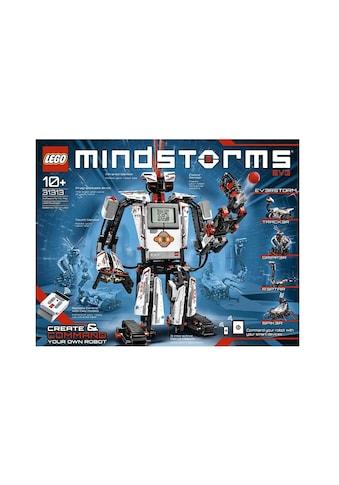 "LEGO® Konstruktionsspielsteine ""MINDSTORMS® EV3 (31313)"", Kunststoff, (601 - tlg.) acheter"