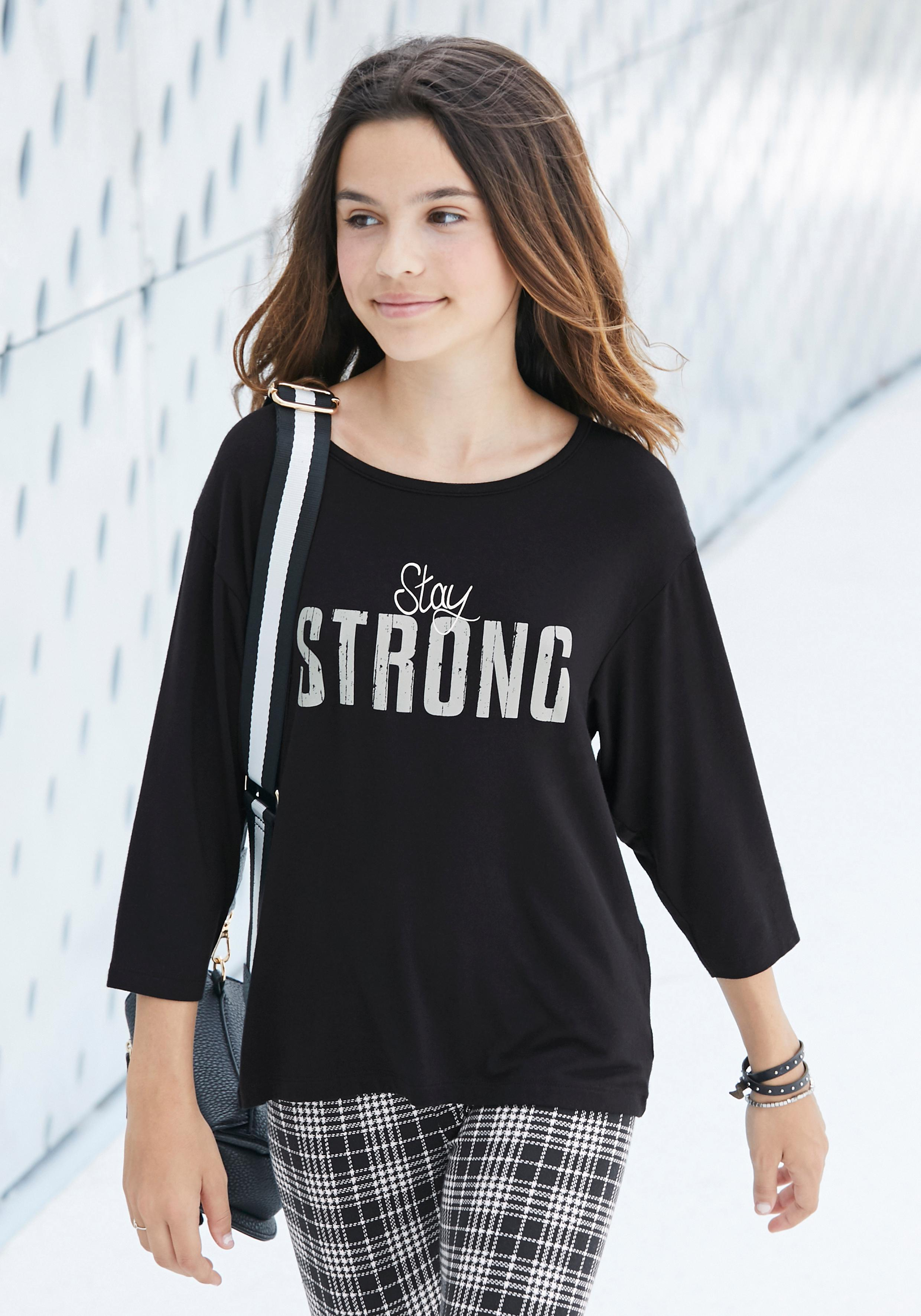 Image of Arizona 3/4-Arm-Shirt »Stay STRONG«