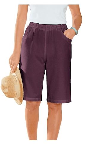Classic Basics Bermudas aus reiner Baumwolle kaufen