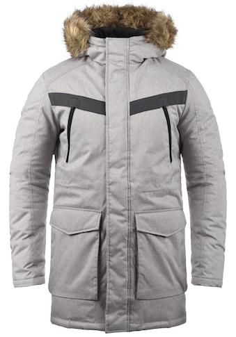 Jack & Jones Parka »Wind«, warme Jacke mit abnehmbarem Kunstfellkragen kaufen