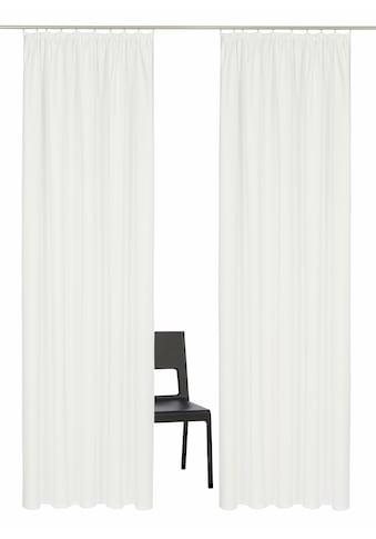 Vorhang, »Parry«, Home affaire, Kräuselband 2 Stück kaufen