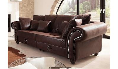 Home affaire Big-Sofa »King George« kaufen