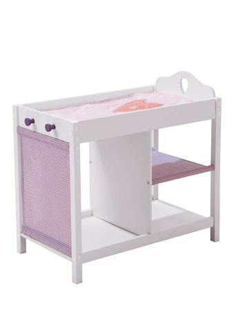 roba® Puppenwickeltisch »Weiss-Lila« kaufen