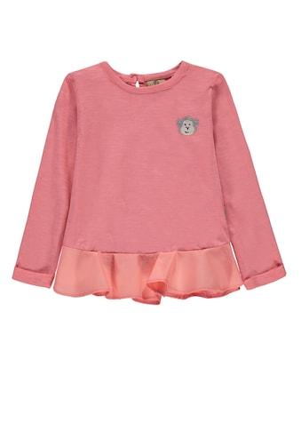 Bellybutton Langarmshirt »Volant« kaufen
