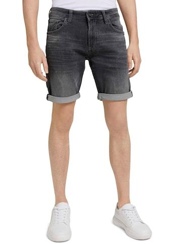 TOM TAILOR Denim Jeansshorts, modisch gewaschen kaufen