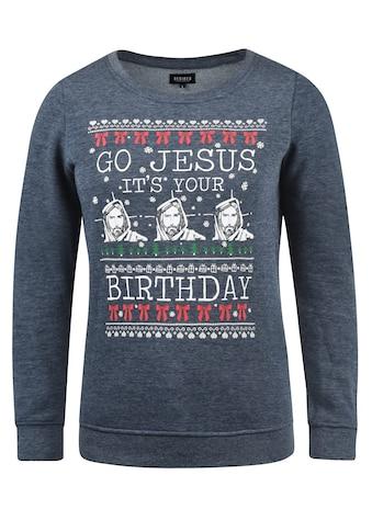 DESIRES Sweatshirt »Christi«, Sweatpullover mit Weihnachtsprint kaufen