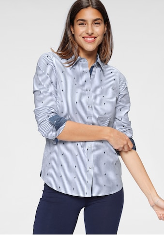 KangaROOS Hemdbluse, mit kontrastfarbenen Details kaufen
