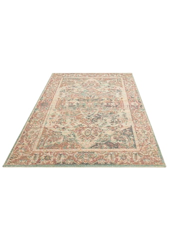 DELAVITA Teppich »Kolat«, rechteckig, 16 mm Höhe, Vintage Design, Wohnzimmer kaufen