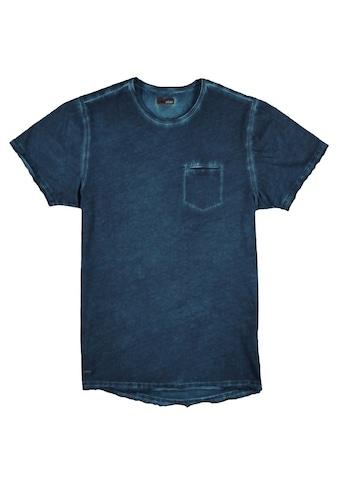 emilio adani T - Shirt mit authentischem Farbeffekt kaufen