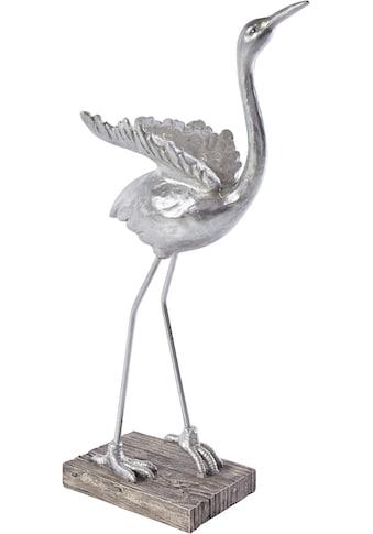 Leonique Dekofigur »Kranich«, Höhe 61 cm kaufen
