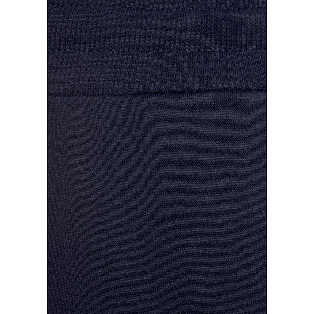 Bench. Sweathose »Contrast«, mit kontrastfarbenem Logoprint