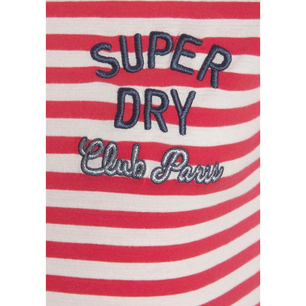 Superdry Nachthemd, in breitem Streifenmuster