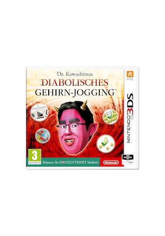 Nintendo Spiel »Dr. Kawashimas diabolisches Gehirn-Jogging (D)«, Nintendo 3DS, Standard Edition kaufen