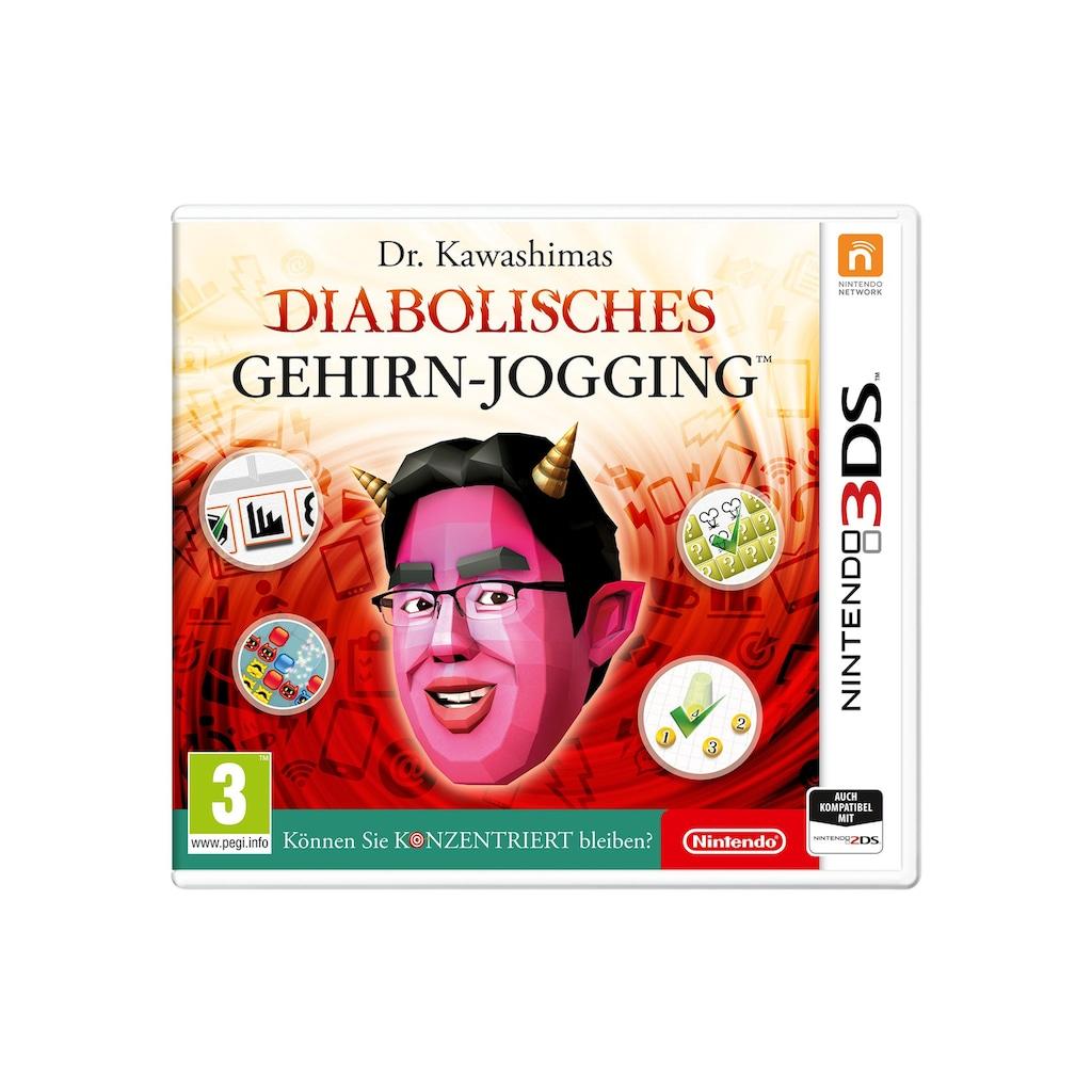 Nintendo Spiel »Dr. Kawashimas diabolisches Gehirn-Jogging (D)«, Nintendo 3DS, Standard Edition