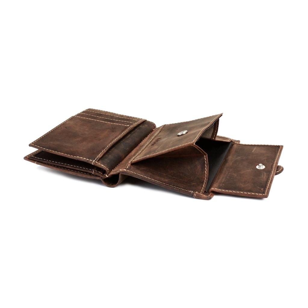 Landleder Geldbörse »SCOT«, Kreditkartenfächer