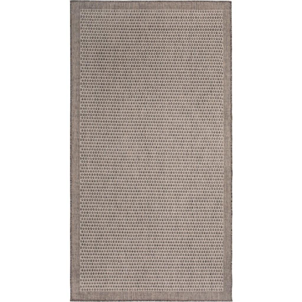 Andiamo Teppich »Savannah«, rechteckig, 5 mm Höhe, Flachgewebe, In- und Outdoor geeignet, Wohnzimmer