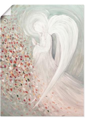 Artland Wandbild »Engelbild I«, Religion, (1 St.), in vielen Grössen & Produktarten -Leinwandbild, Poster, Wandaufkleber / Wandtattoo auch für Badezimmer geeignet kaufen