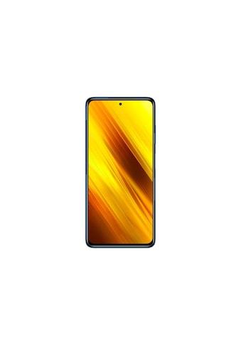 "Xiaomi Smartphone »Poco X3 64 GB Cobalt Blue«, (16,94 cm/6,67 "", 64 GB, 64 MP Kamera) kaufen"