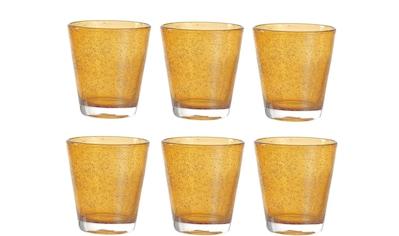 LEONARDO Glas »Leonardo Trinkglas Burano Ambra 330«, (6 tlg.), 6 teilig kaufen