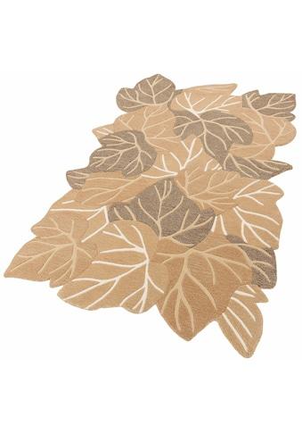 Wollteppich, »Luna«, Home affaire Collection, rechteckig, Höhe 15 mm, handgetuftet kaufen