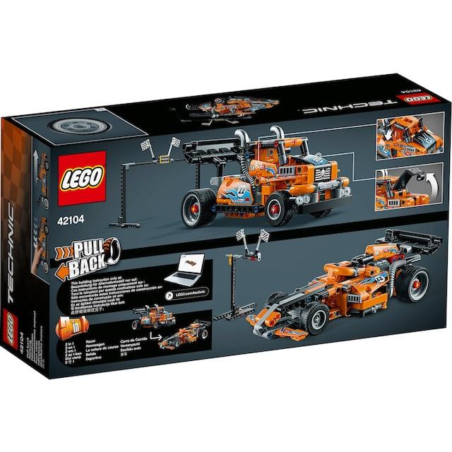 "LEGO® Konstruktionsspielsteine ""Renn-Truck (42104), LEGO® Technic"", Kunststoff, (227-tlg.)"