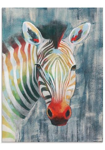 Artland Glasbild »Prisma Zebra I« kaufen