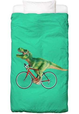 Bettwäsche »T - Rex Bike«, Juniqe kaufen