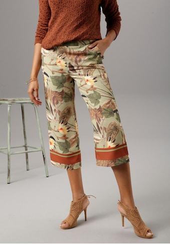 Aniston SELECTED Culotte, am modischen Druck kaufen