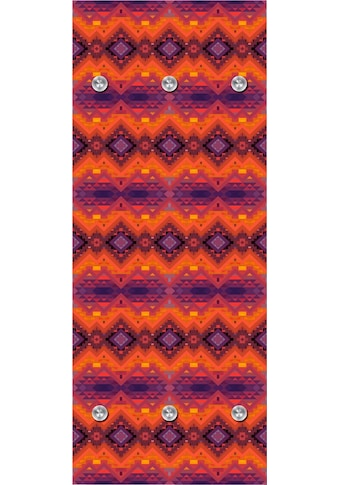 queence Garderobenpaneel »Orientalisches Muster«, mit 6 Haken, 50 x 120 cm kaufen