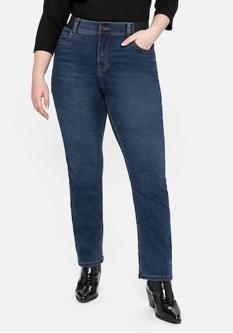 Sheego Stretch-Jeans, extrem elastisch, passt sich immer wieder an kaufen