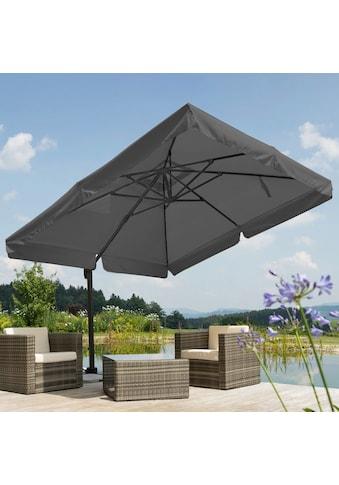 Schneider Schirme Ampelschirm »Rhodos«, Inkl. Schutzhülle mit Schirmständer, ohne Wegeplatten kaufen