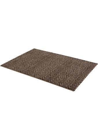 ASTRA Teppich »Carpi Raute«, rechteckig, 15 mm Höhe, Wunschmass, Wohnzimmer kaufen