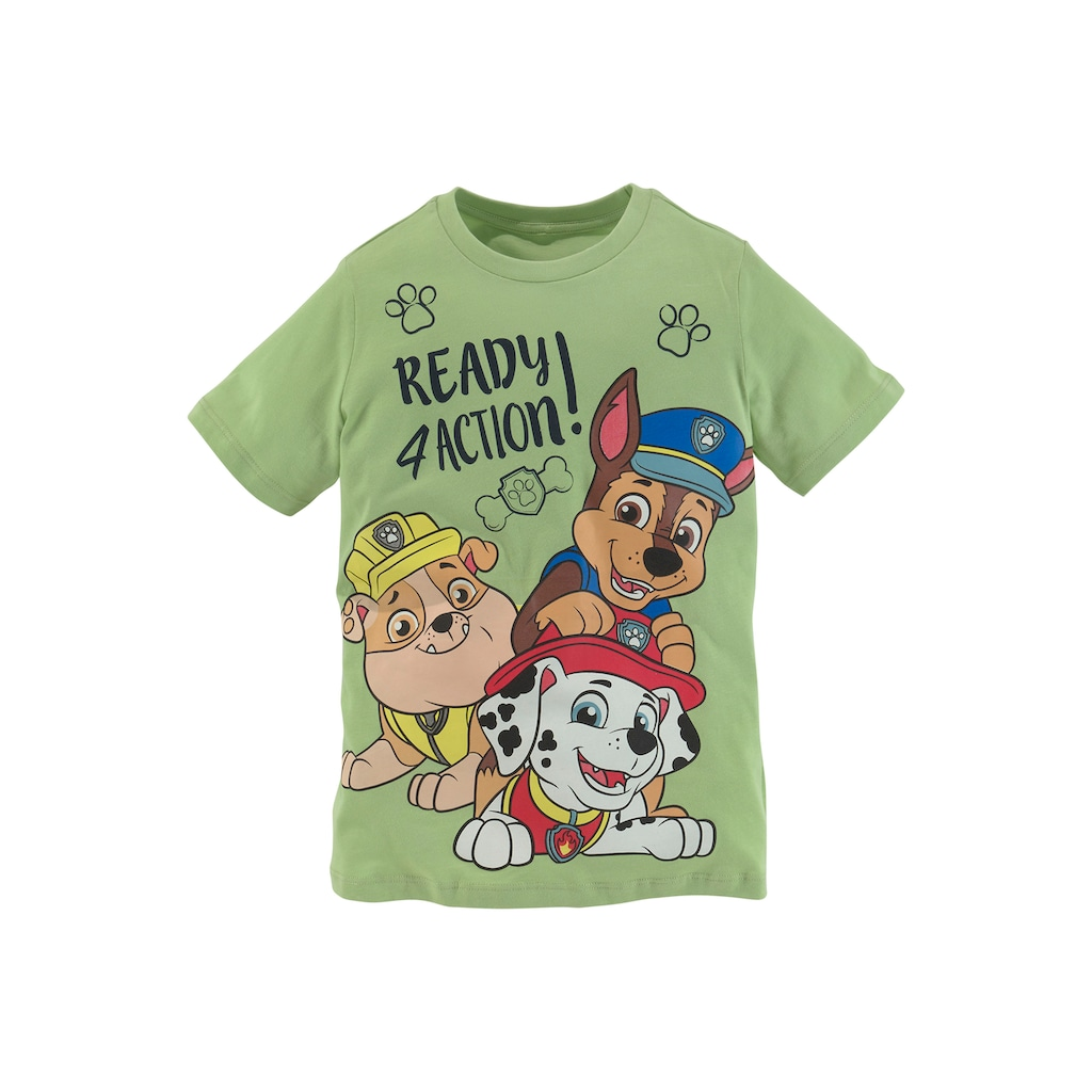 PAW PATROL T-Shirt »Ready 4 action!«
