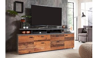 trendteam TV-Board »Mood«, (2 St.), TV-Bühne mit offenen Fächern kaufen