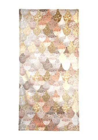 """Handtuch """"Mermaid Goldfarben"""", Juniqe kaufen"""