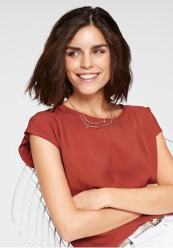 Tamaris Shirtbluse, mit abgerundetem Saum kaufen