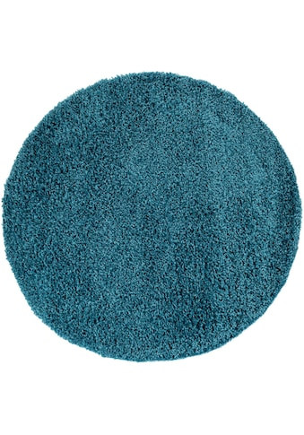 Paco Home Hochflor-Teppich »Sky 250«, rund, 35 mm Höhe, intensive Farbbrillanz,... kaufen