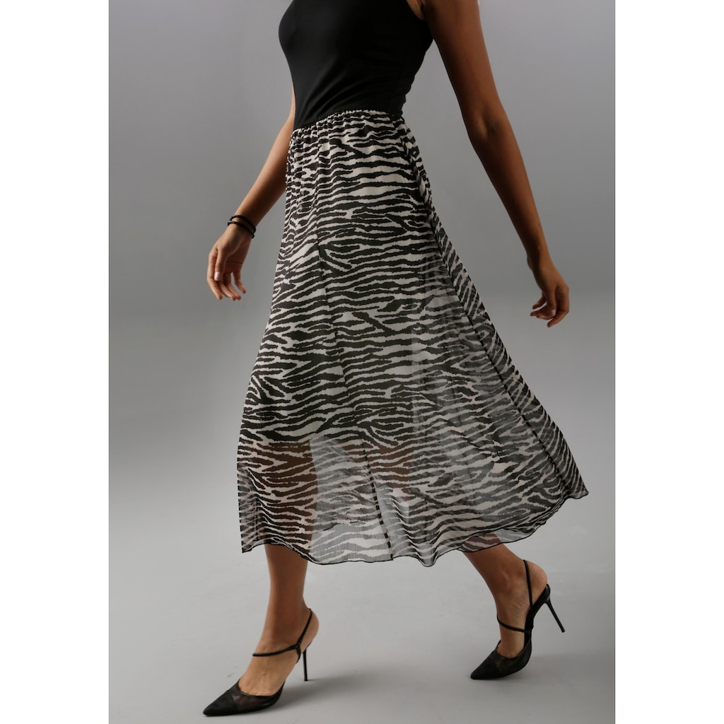Aniston SELECTED Partykleid, im Animal-Print