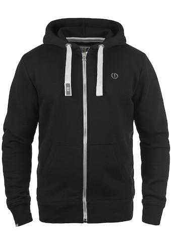 Solid Kapuzensweatjacke »BennZip«, Sweatshirtjacke mit kontrastfarbenenen Details kaufen