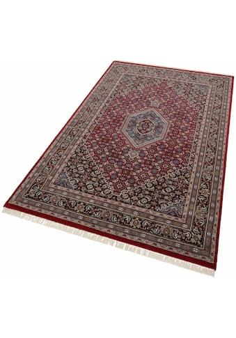 THEKO Orientteppich »Benares Bidjar«, rechteckig, 12 mm Höhe, reine Wolle, handgeknüpft, mit Fransen, Wohnzimmer kaufen