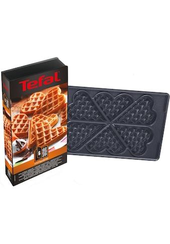 Tefal Herzwaffelplatten »XA8006«, Metall, passend für Tefal SW852D Snack Collection kaufen