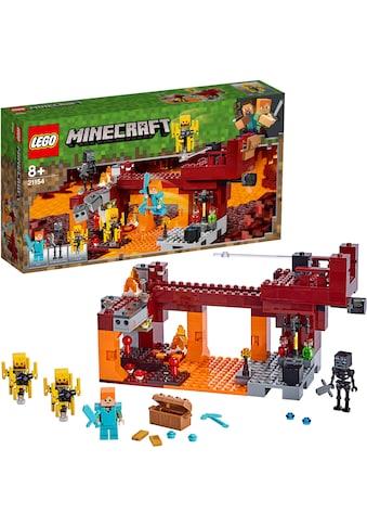 """LEGO® Konstruktionsspielsteine """"Die Brücke (21154), LEGO® Minecraft™"""", Kunststoff, (372 - tlg.) kaufen"""