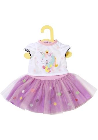 Zapf Creation® Puppenkleidung »Dolly Moda Shirt mit Tutu 39-46 cm« kaufen